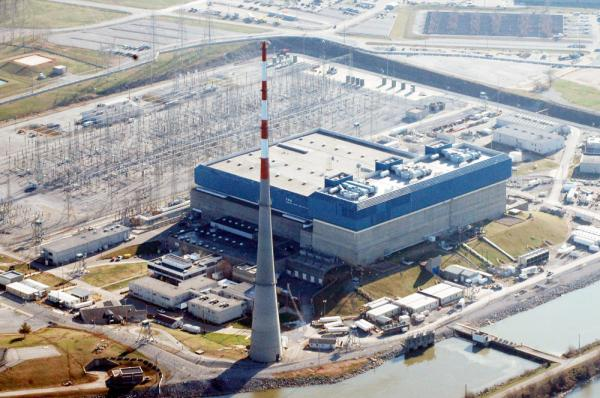 Tennessee Valley Authority's Browns Ferry Nuclear Plant near Athens, Ala.