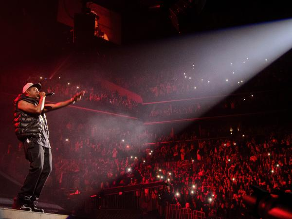 Jay-Z plays the first of eight concerts at Brooklyn's Barclays Center on Friday, Sept. 28.