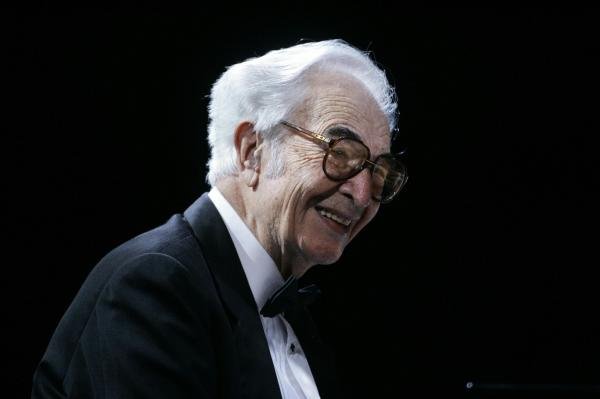 Dave Brubeck performs along with his Dave Brubeck Quartet in November 2005.
