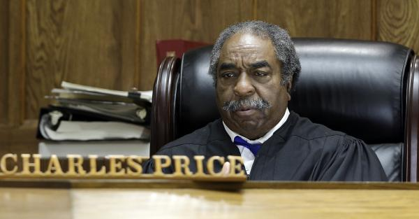 Circuit Court Judge Charles Price hears arguments in in Montgomery, Ala., Tuesday on a bill that provides private school tax credits. The judge halted the bill from being delivered to the governor.