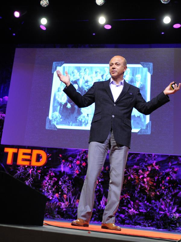 """Only the hand can tell where it's tender, where the patient winces."" — Abraham Verghese"