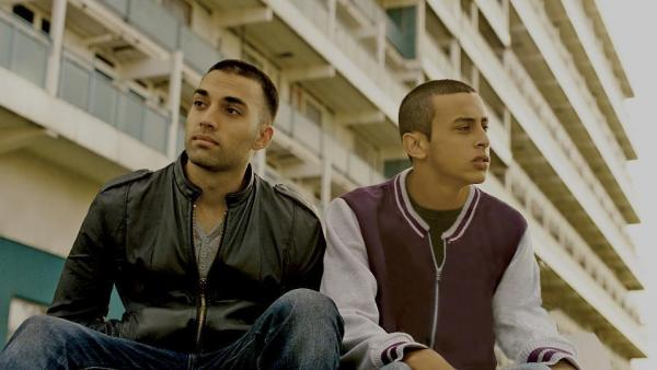 Brothers Rash and Mo (James Floyd and Fady Elsayed) live in the rough working-class London neighborhood of Hackney — but which sibling is the titular designee in <em>My Brother the Devil</em> gets harder and harder to determine as the film goes on.