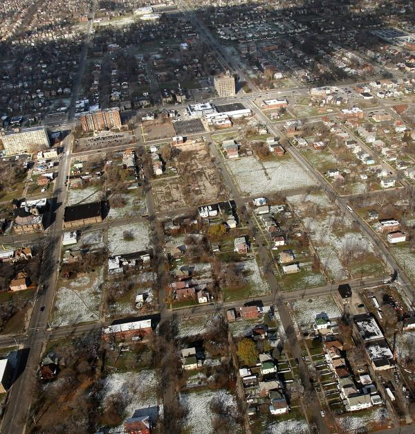 Industrial cities like Detroit have high levels of lead in the aging housing stock and in soils. Researchers found that the amount of soil lead in Detroit that gets suspended in the air correlated with the levels of lead in kids' blood.