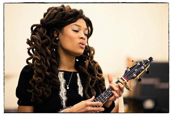 Valerie June's first album, <em>Pushin' Against A Stone</em>, will be out in August.