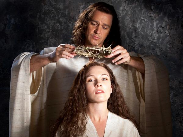 Nathan Gunn and Sasha Cooke star in the new opera <em>The Gospel of Mary Magdalene</em> as Yeshua (the Hebrew name of Jesus) and the title character.