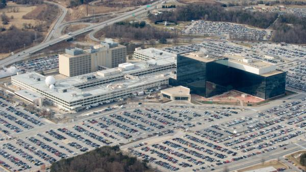 National Security Agency headquarters at Fort Meade, Md.