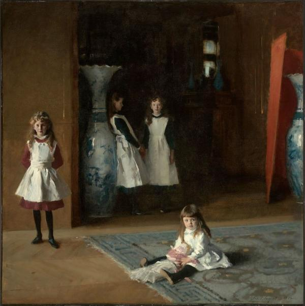 """The Daughters of Edward Darley Boit"" by John Singer Sargent, American, 1882. (Museum of Fine Arts Boston)"