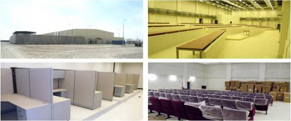 Photos depict scenes at the $34 million command center in Camp Leatherneck, completed in November. U.S. troops will never use the facility, the Special Inspector General for Afghanistan Reconstruction says.
