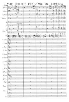 A page from the score of <em>In the Shadow Of No Towers</em>.