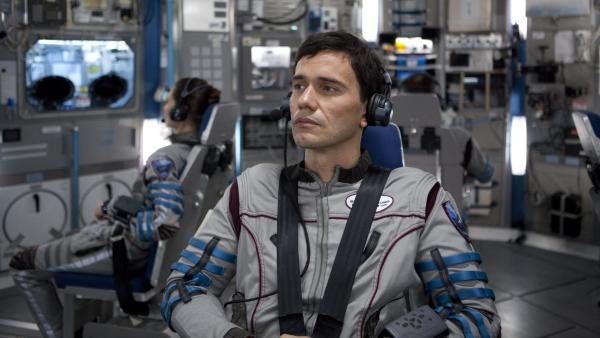 Daniel Luxembourg (Christian Camargo) is chief scientist on a doomed mission to one of Jupiter's moons in <em>Europa Report,</em> a found-footage whatdunnit with sci-fi-thriller ambitions.