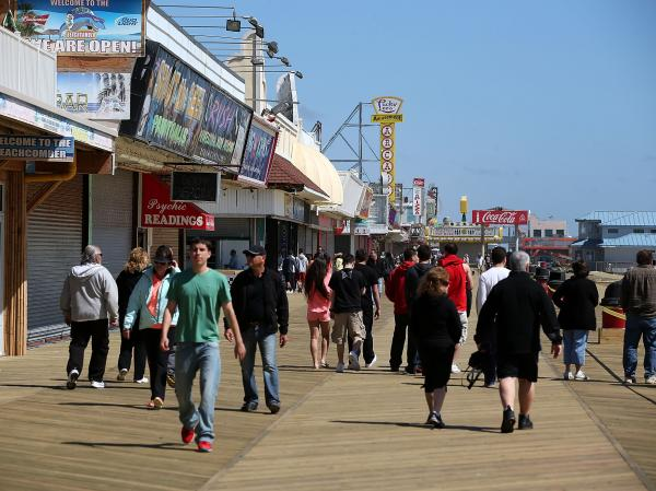 In Grabenstein's book <em>Fun House,</em> Detective John Ceepak goes up against the rowdy cast of a reality show near the Seaside Heights boardwalk.