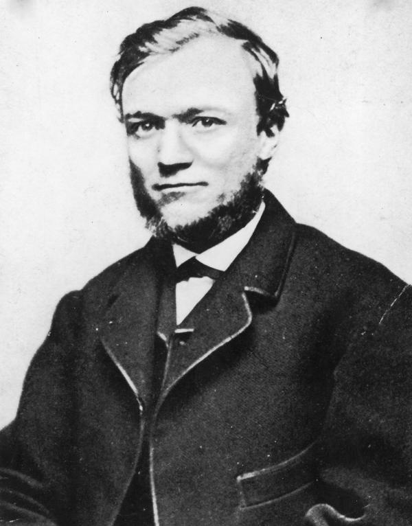 As a teen, Andrew Carnegie worked as a bobbin boy in a textile mill and was determined to improve his lot in life. Above, Carnegie as a young man in 1868.
