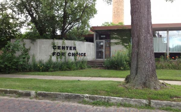 Toledo's Center for Choice. (Sarah Jane Tribble/WCPN)