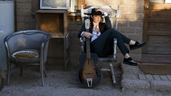 KT Tunstall's album <em>Invisible Empire // Crescent Moon</em> was recorded in two sessions, which fell on either side of a life-changing summer for the singer.