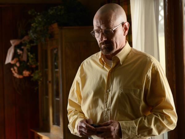 Bryan Cranston as Walter White on <em>Breaking Bad</em>.