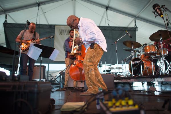 The Terence Blanchard Quintet lays down some new jams from <em>Magnetic</em>, including a guest spot from guitarist Lionel Loueke and some electric feels for Blanchard's trumpet.