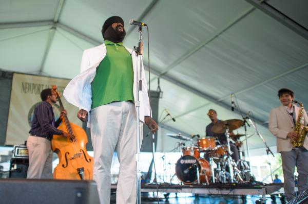 Clap your hands now! The quickly rising jazz singer Gregory Porter showcases new songs from his forthcoming album <em>Liquid Spirit</em>.