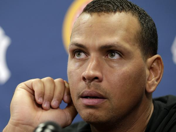 He's waiting to hear his fate: New York Yankees third baseman Alex Rodriguez.