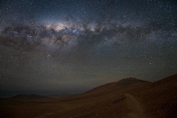 "The Milky Way dominates the sky over Chile's Atacama Desert, home to the <a href=""http://www.eso.org/public/"">European Southern Observatory</a>."