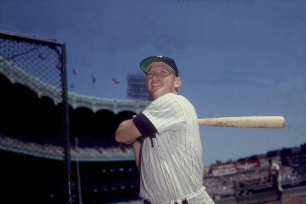 <strong>Mickey Mantle:</strong> The Yankees legend was barred from coaching and other baseball activities by MLB Commissioner Bowie Kuhn in 1983, due to his work for Atlantic City casinos that had hired him to socialize with big customers. He was reinstated in 1985 by newly arrived Commissioner Peter Ueberroth. Mantle is seen here in the 1960's.