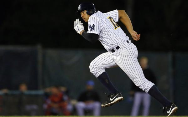 New York Yankees' Alex Rodriguez is pictured during a minor league baseball rehab start with the Trenton Thunder, Saturday, Aug. 3, 2013 in Trenton, N.J. (Rich Schultz/AP)