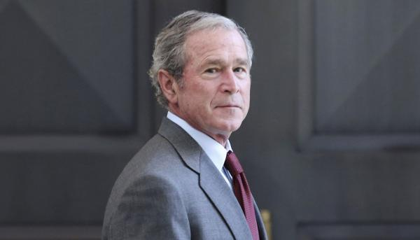 Former President George W. Bush is pictured July 10, 2013. (LM Otero/AP)