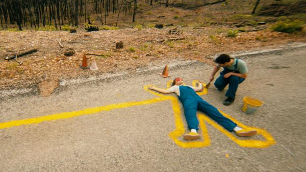 Tasked with repainting road stripes in a fire-ravaged rural Texas, the comfortably introverted Alvin (Paul Rudd, right) and the talkative but not-too-worldly Lance (Emile Hirsch) aren't the most natural allies — but in <em>Prince Avalanche</em>, they'll manage to connect at least a little.