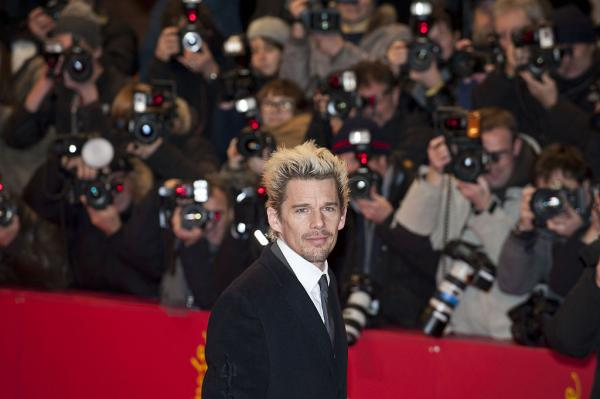 "Ethan Hawke at the premiere of the film ""Before Midnight,"" at the 63rd annual Berlin Film Festival in February 2013 (Siebbi/commons.wikimedia.org)"
