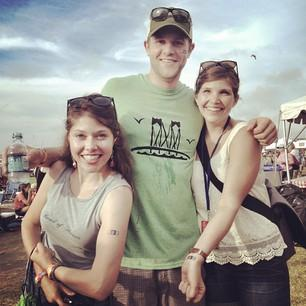 These guys love NPR! #newportfolk