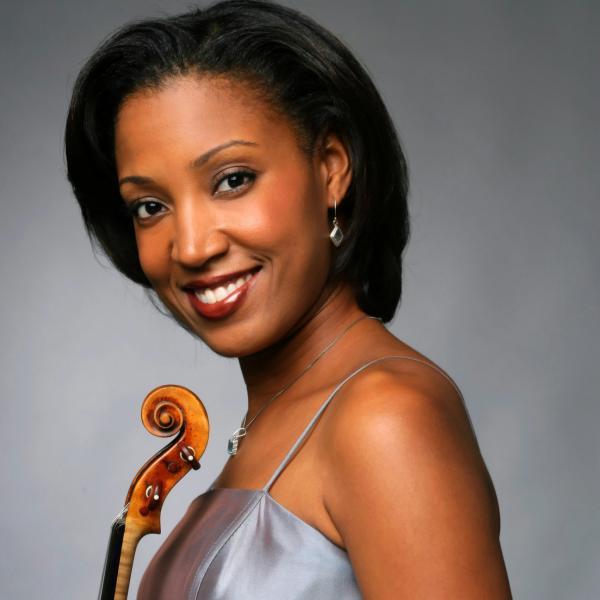 Violinist Kelly Hall-Tompkins
