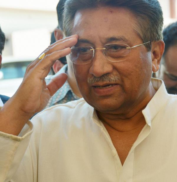 Former Pakistani President Pervez Musharraf in April, near his home in Islamabad.