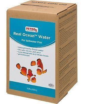 Real ocean water