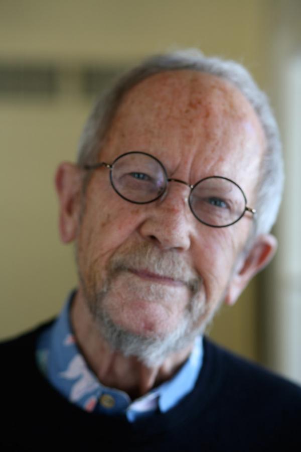 Crime novelist Elmore Leonard in 2010.