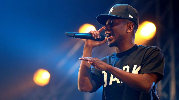 Kendrick Lamar performing in the Netherlands three days before his verse shook up the rap world.