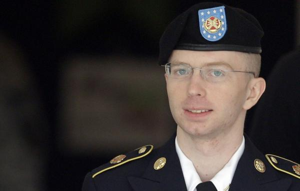 Bradley Manning, pictured here on Aug. 16, 2013, plans to live as a woman named Chelsea. (Patrick Semansky/AP)