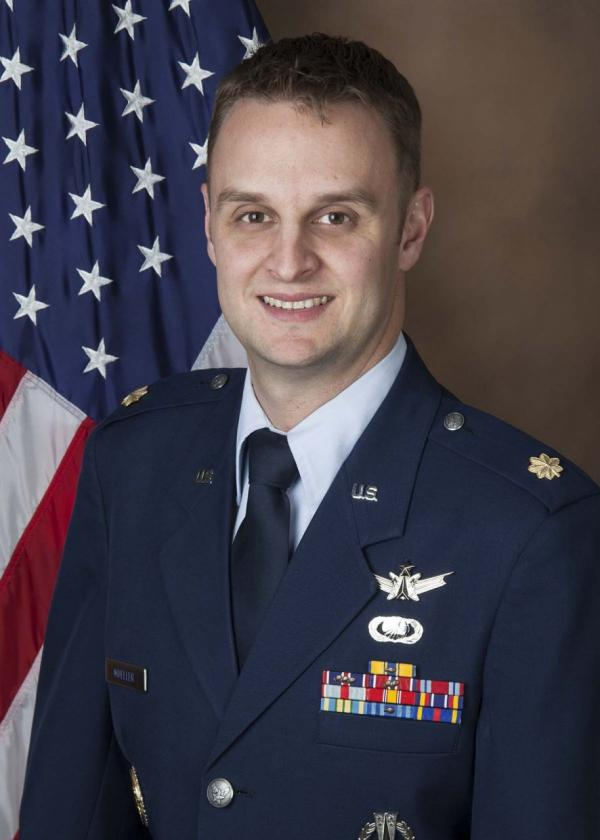 Air Force Major Jeff Mueller. (USAF)
