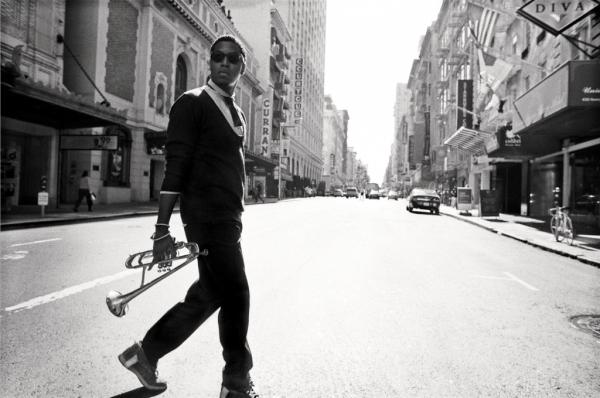 Christian Scott is one of the jazz musicians coming out of New Orleans who combines rock and hip hop influences. (christianscott.tv)