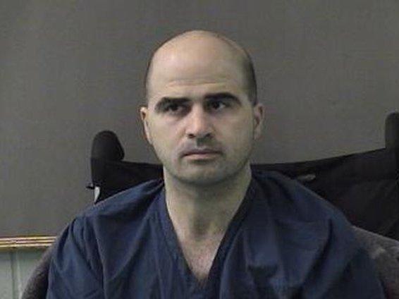 Army Maj. Nidal Hasan is seen in a booking photo after being moved to the Bell County Jail on April 9, 2010, in Belton, Texas.