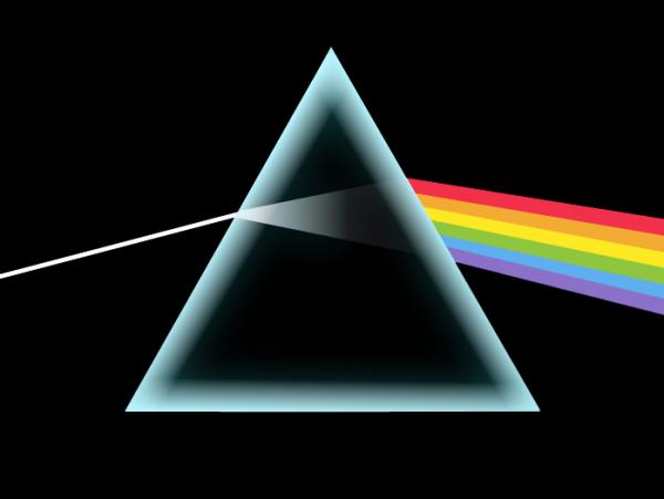 Posters of the iconic prism cover art from Pink Floyd's psychedelic masterpiece <em>The Dark Side Of The Moon</em> still adorn countless college dorm walls, 40 years after its release.