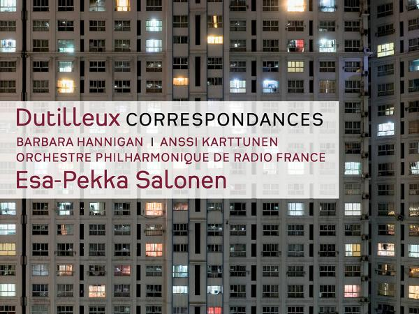 The album cover for Dutilleux' <em>Correspondances </em>and other works, which won the Contemporary prize at the 2013 <em>Gramophone </em>Awards.