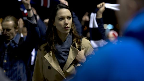 <strong>Chaos, panic and disorder:</strong> Rebecca Hall stars as a barrister whose assignment leads to all kinds of bad things in the security-state thriller <em>Closed Circuit.</em>