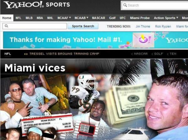 Yahoo! Sports' investigation.