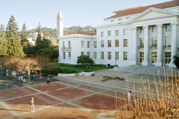 <p>Sproul Plaza at the University of California, Berkeley. Tuition at U.C. Berkeley was about $700 a year in the 1970s. Today, families pay over $15,000 per year to attend. </p>