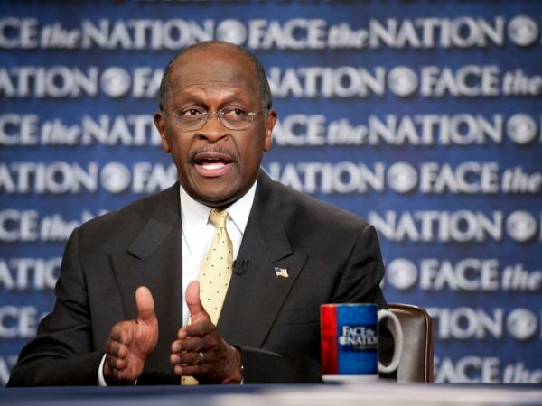 "<p>Herman Cain on CBS' ""Face the Nation"" in Washington Sunday, Oct. 30, 2011. </p>"