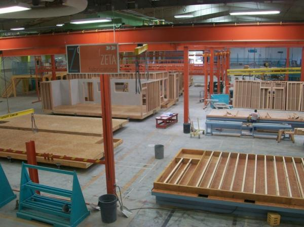 <p>At the ZETA Communities factory, modular homes are built in assemblies of floors, walls and ceilings, rather than piece-by-piece. A 1,500 square-foot home can be built in a single day. </p>
