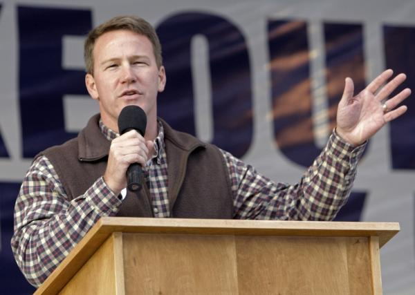 "Ohio Secretary of State Jon Husted says that both parties need to ""tone it down."" The Republican says he doesn't believe you need to have a voter ID to ""provide for voter security."""