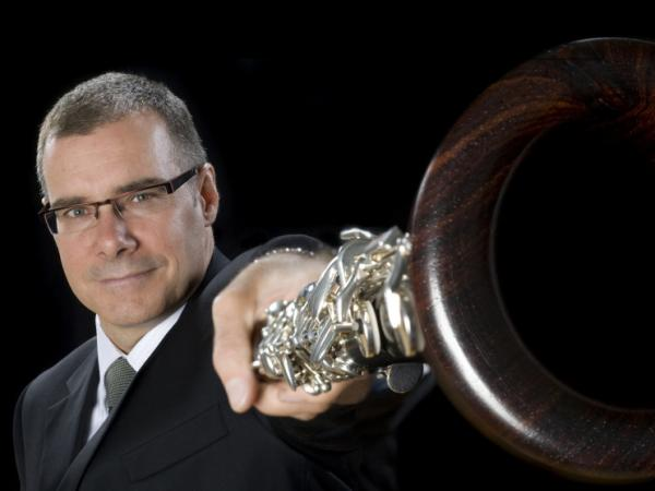Clarinetist François Houle.