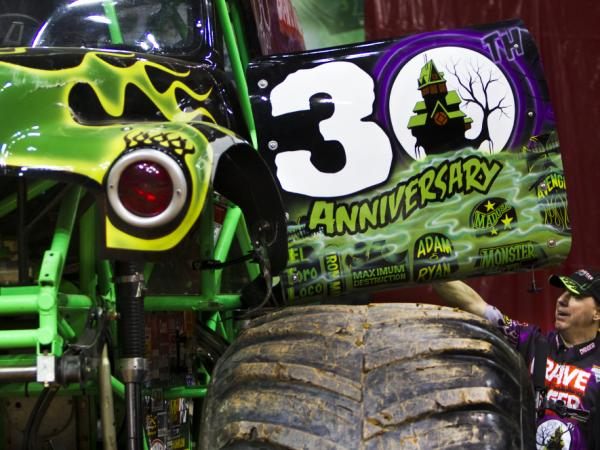 The Grave Digger team of monster trucks, considered to be one of the most influential monster trucks of all time, is currently celebrating its 30th anniversary and racing in the United States Hot Rod Association (USHRA) Monster Jam series.