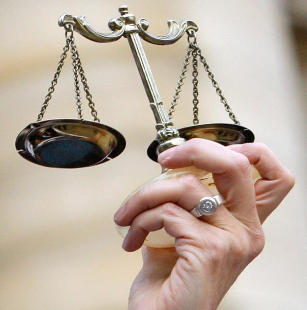 The scales of justice tipped toward the plaintiff in this case.