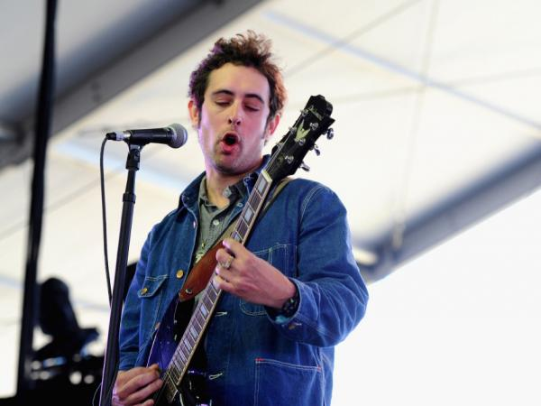 Ian St. Pe of the band Black Lips performs at this year's Coachella festival in Indio, Calif. Like many of the artists on the bill, the band agreed not to book other shows in Southern California within months of the event.